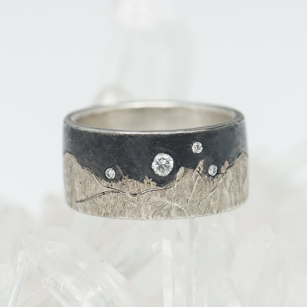 Constance-Wicklund-Gildea-sterling-silver-diamond-ring