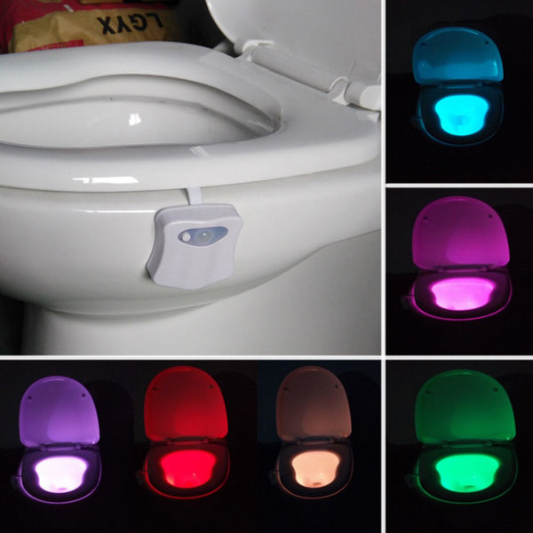 Night Light Toilet Seat.Ele 235 Sensor Motion Activated Led Toilet Night Light Toilet Bowl Light Motion Sensing Night Light With 8 Color Changes