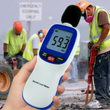 PD_10 Kibeland Instrument Professional Digital Sound Level Meter with Backlit Display High Accuracy Measuring 30dB-130dB