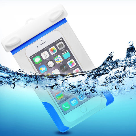 PHO_29 Kibeland Waterproof Case for Cellphone Smartphone Devices, Dustproof, Snowproof Pouch Bag for Every Cell Phone
