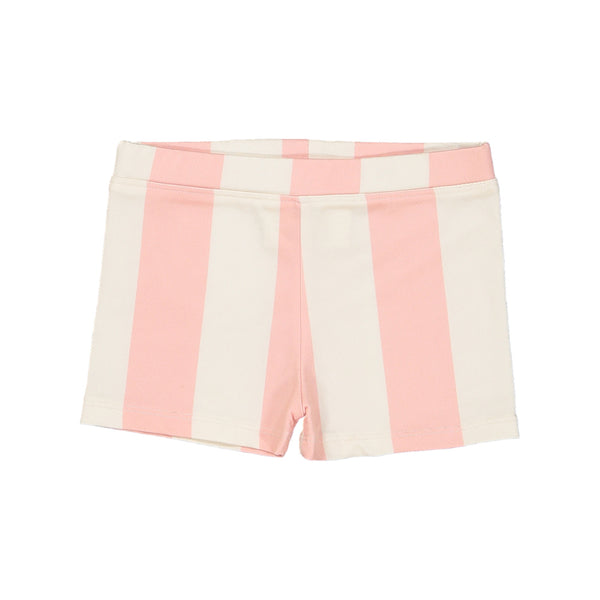 Swim Shorts Pink Stripes