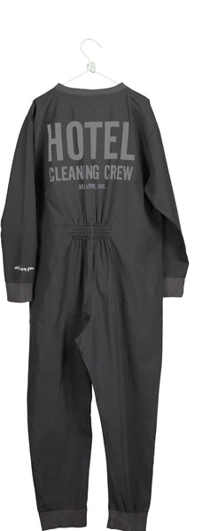 Zip boiler cleaning crew jumpsuit