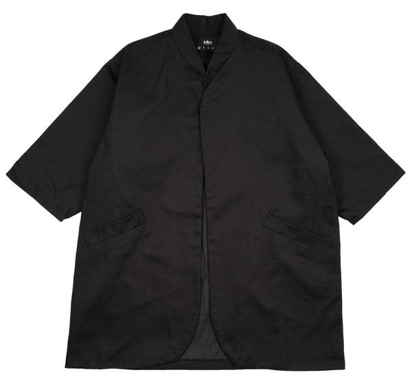Ace Longline Jacket Black