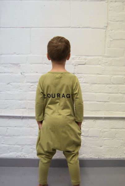 Courage onesie