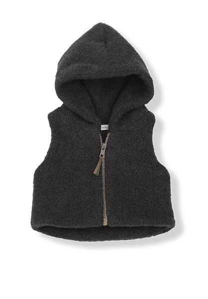Izan polar hooded vest