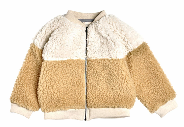 Block Sherpa Bomber Milk Natural