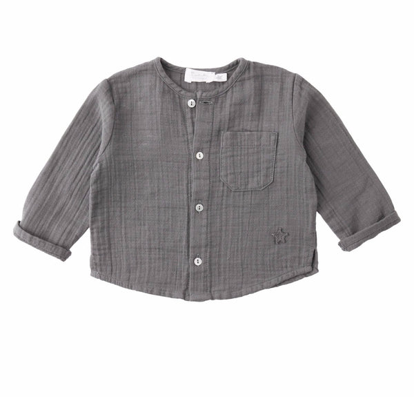 Pocket shirt grey