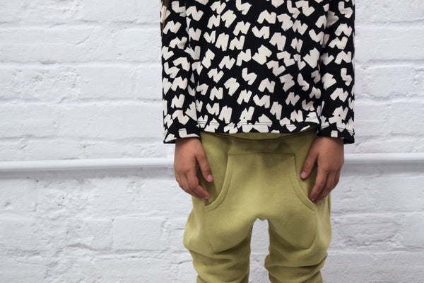 Khaki pocket pants