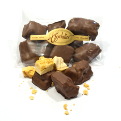 Chocolate Covered Honeycomb