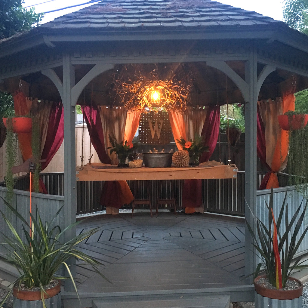 How To Have a Gazebo Wine Tasting Party!