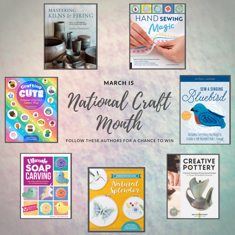National Craft Month - FREE Give-Away!