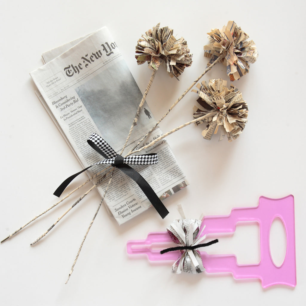 DIY Paper Flowers - Have you heard the NEWS?