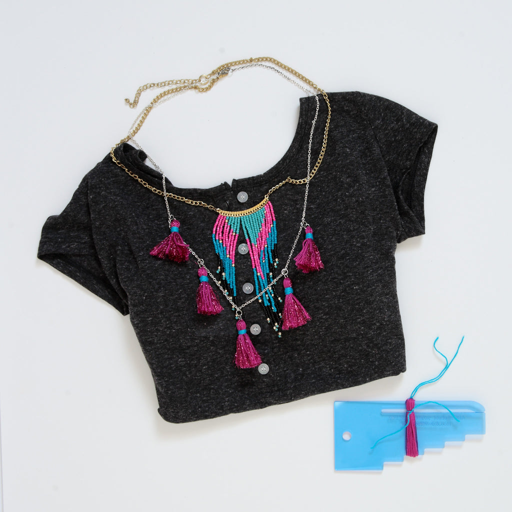 Tribal Tassels - DIY Necklace