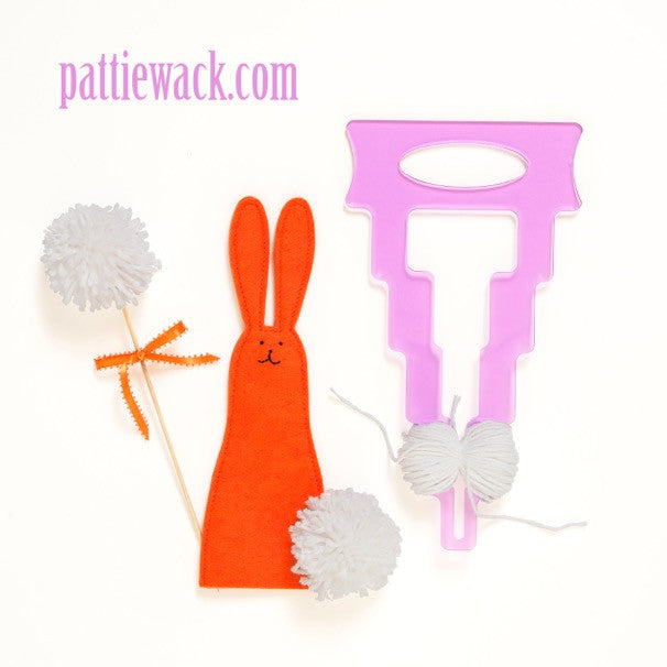 Easter Bunny Pom-Pom Craft