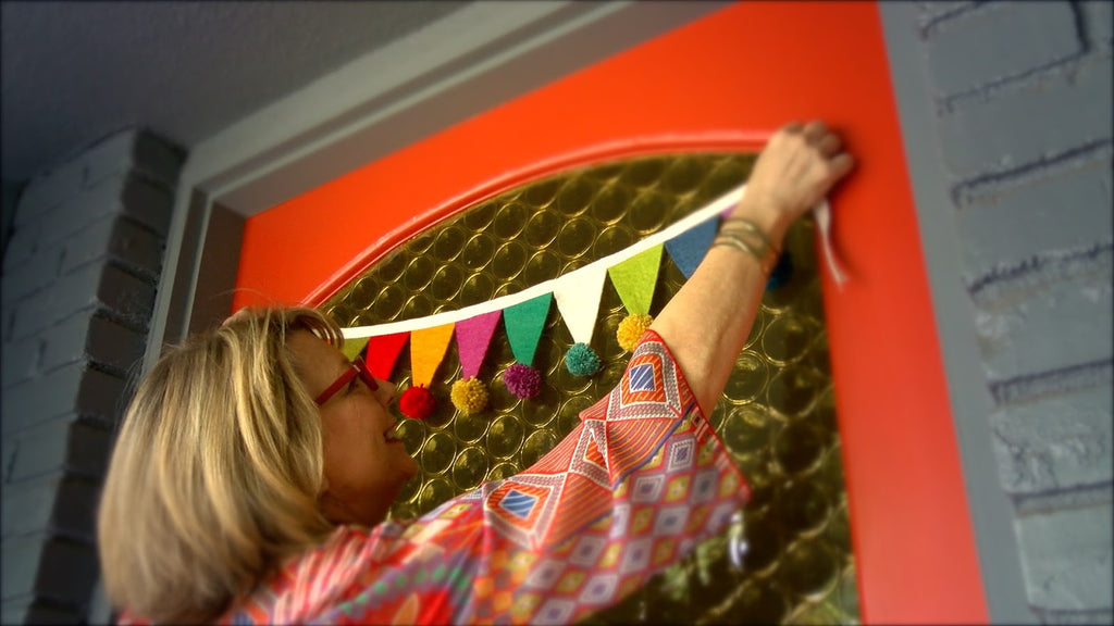 Front Door Pom-Pom Banner How-To Video