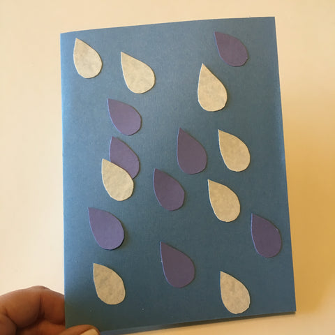 Rainy Day Card craft for kids