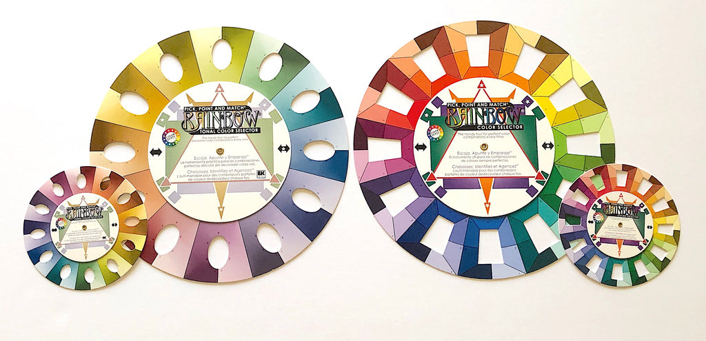 family of color wheels