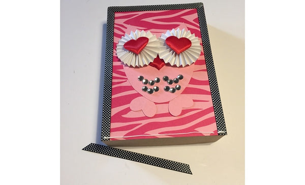 Valentine's Day Owl Box -border