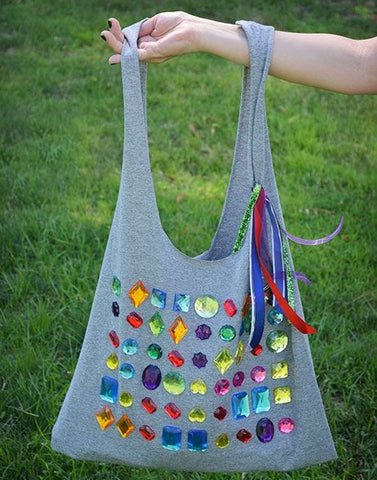Candy Crush Tote Bag Tutorial