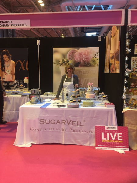 PW at the UK International Cake Show
