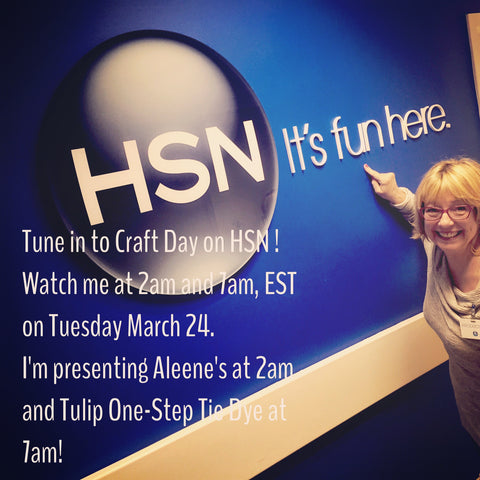 HSN with Pattie Wilkinson, Designer/Demonstrator