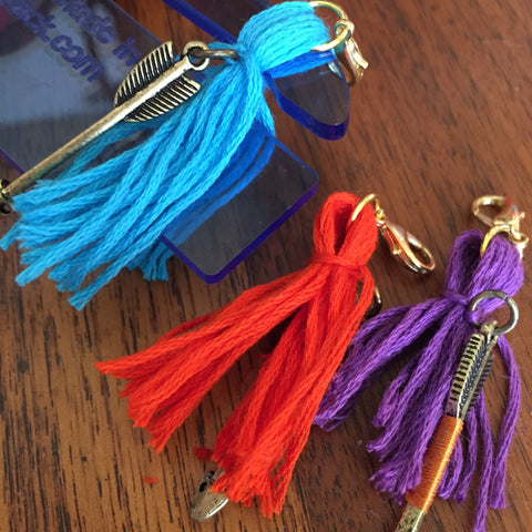 pull tassels of PattieWack tassel maker