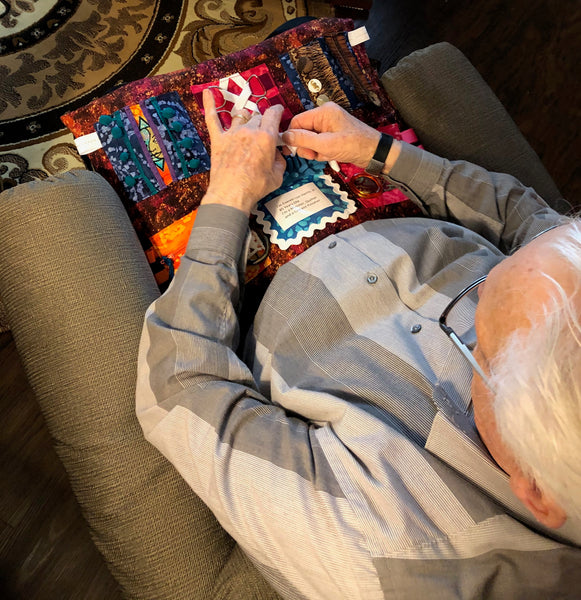 Weighted Sensory Lap Blanket for Dementia