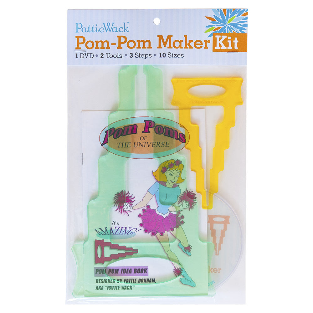 PattieWack Pom-Pom Maker Kit