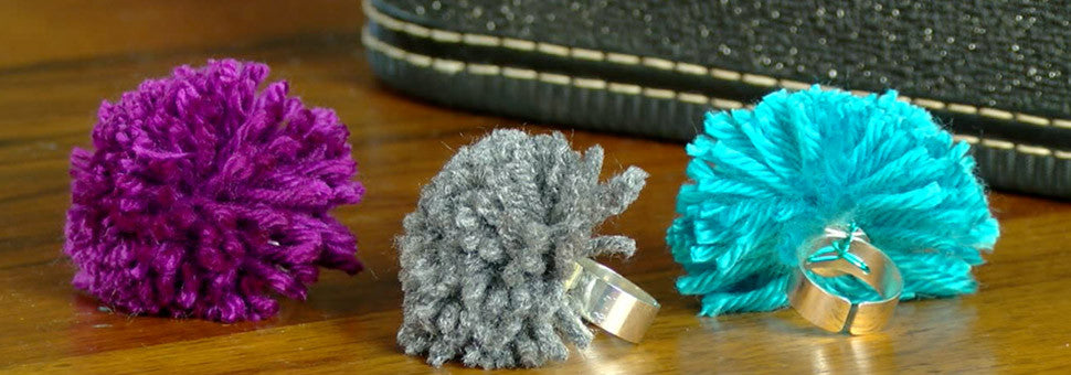 PattieWack pom pom rings