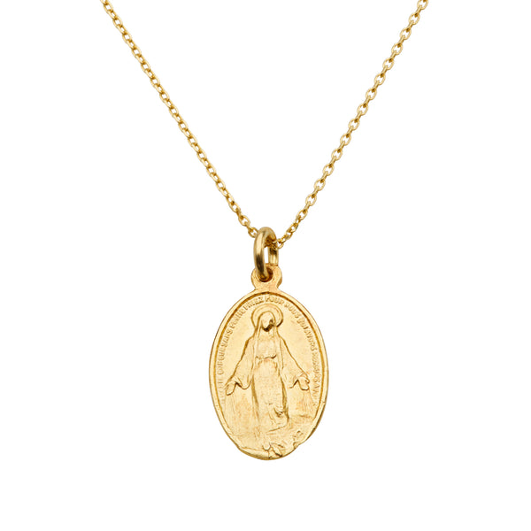 Fine Mother Mary Pendant