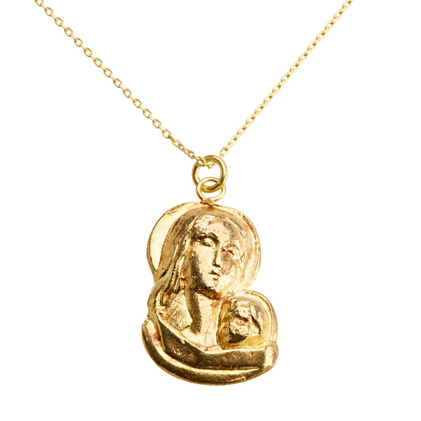 Mother + Child Pendant