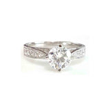 0.75ct Swiss Diamond Petite Ring