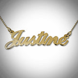 18K Gold Vermeil Classic Name Necklace