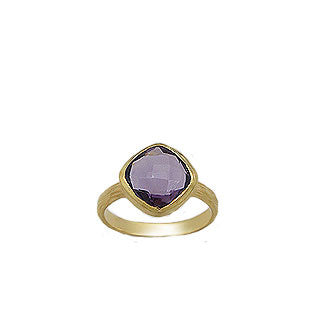 Prima Bella Amethyst Ring - Haggled Jewellery