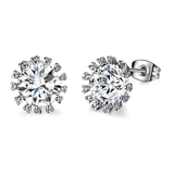 2.75ct CZ Brilliant Studs - Haggled Jewellery - 1