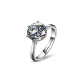 4ct Solitaire Swiss Diamond Ring - Haggled Jewellery
