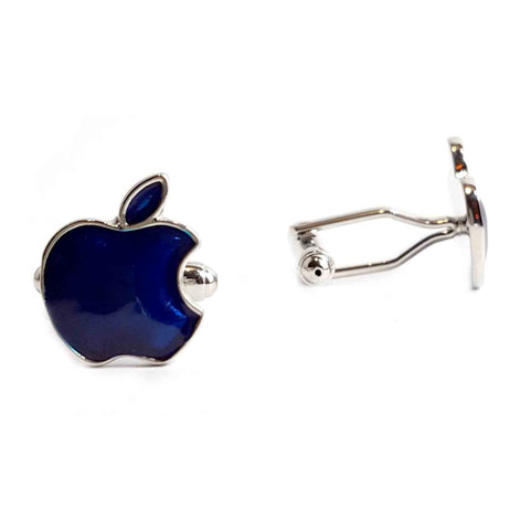 Blue Apple Cufflinks - Haggled Jewellery - 1