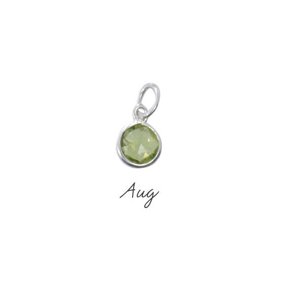 Peridot Birthstone - August - Haggled Jewellery - 1