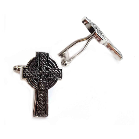 Cross Cufflinks - Haggled Jewellery - 1