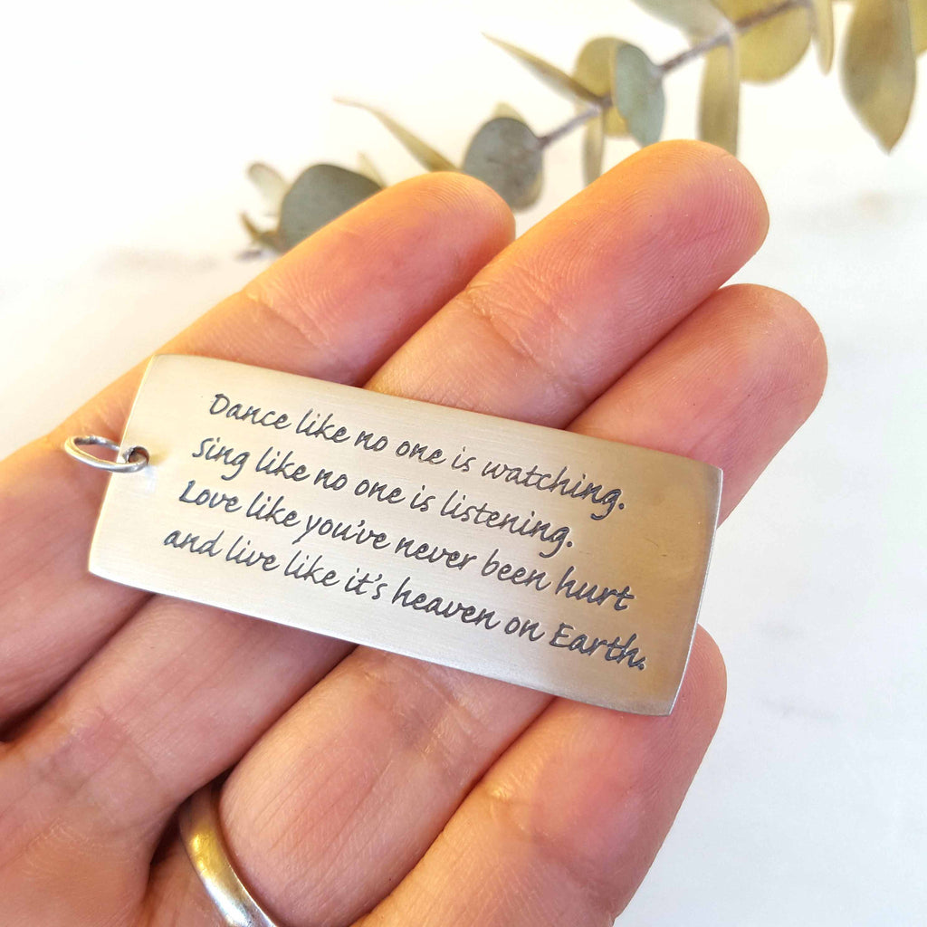 Dance Like No One Pendant