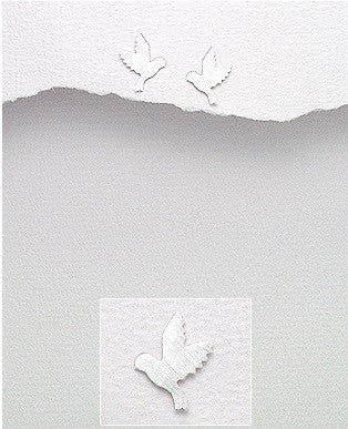 Dove Studs - Haggled Jewellery