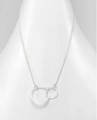 Entwined Circle Necklace - Haggled Jewellery
