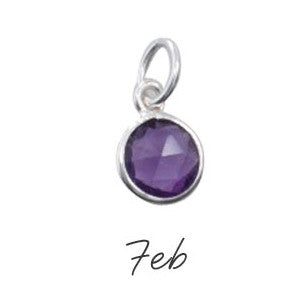 Amethyst Birthstone - Feburary - Haggled Jewellery - 1