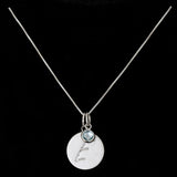 E Initial Pendant Necklace - Haggled Jewellery - 2