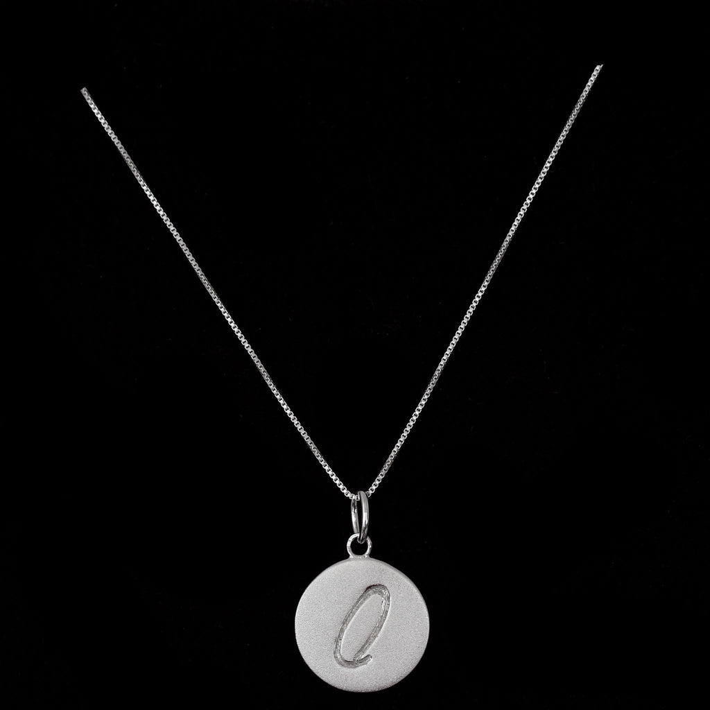 O Initial Pendant Necklace - Haggled Jewellery - 1