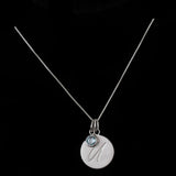 U Initial Pendant Necklace - Haggled Jewellery - 3