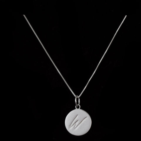 W Initial Pendant Necklaces - Haggled Jewellery - 1