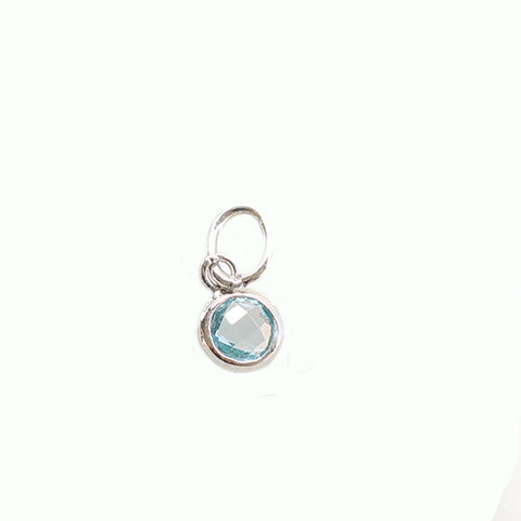 Blue Topaz Birthstone - December - Haggled Jewellery - 1