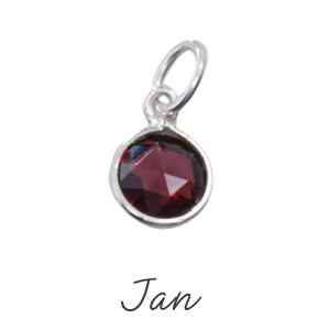 Garnet Birthstone - January - Haggled Jewellery - 1