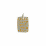 Gold Baltik Vermeil & Sterling Silver Pendant - Haggled Jewellery